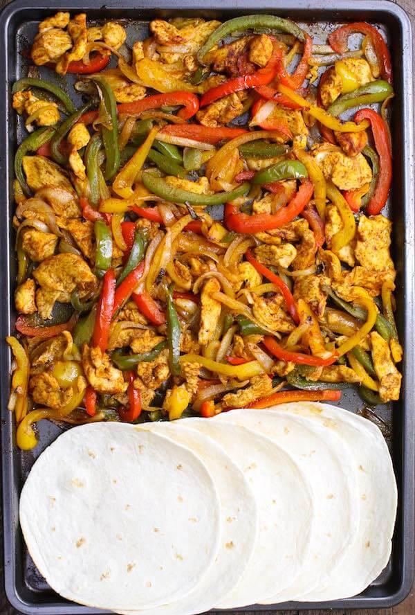 #26 Sheet Pan Chicken Fajitas