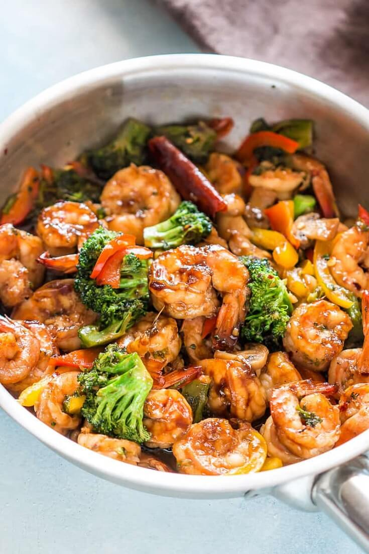#26 Teriyaki Shrimp Broccoli Stir Fry rv