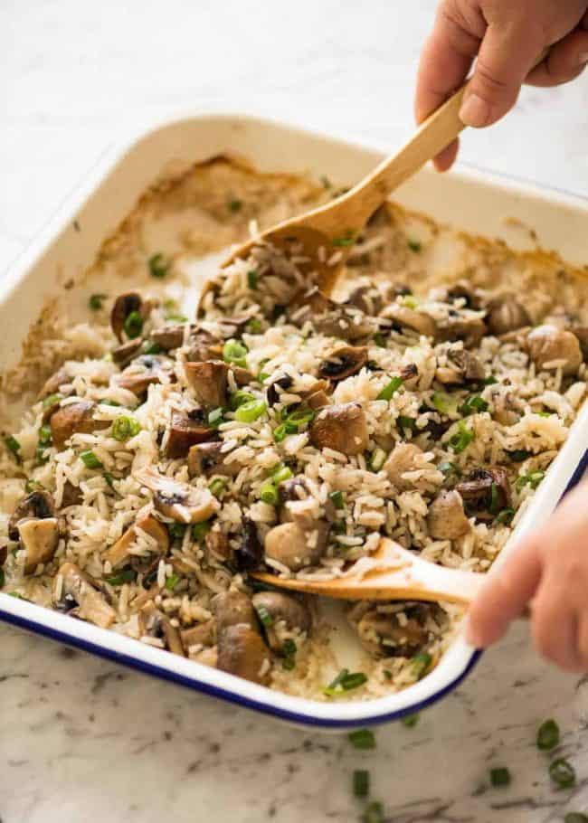 26. Baked Mushroom Rice