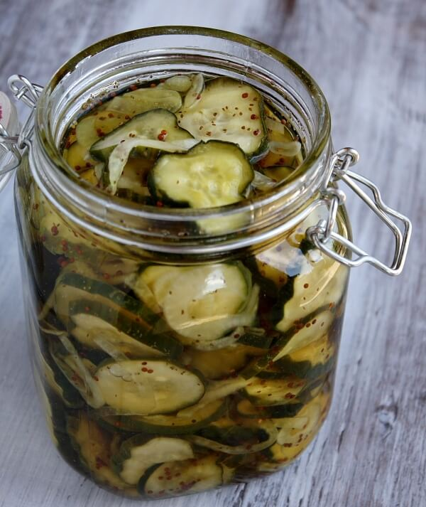 26. Bread and Butter Pickles
