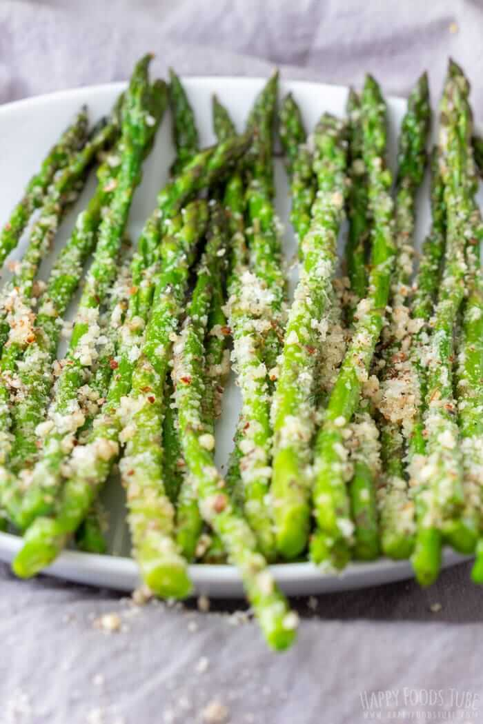 #27 Pan-Fried Asparagus with Parmesan