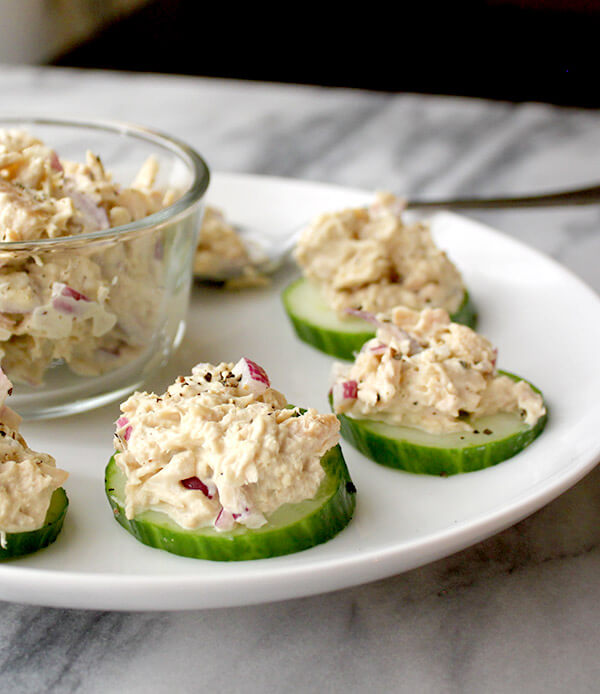 27. Tuna Cucumber Salad