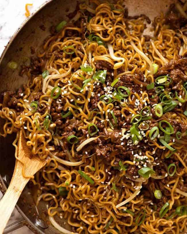 #3 Asian Beef and Noodles