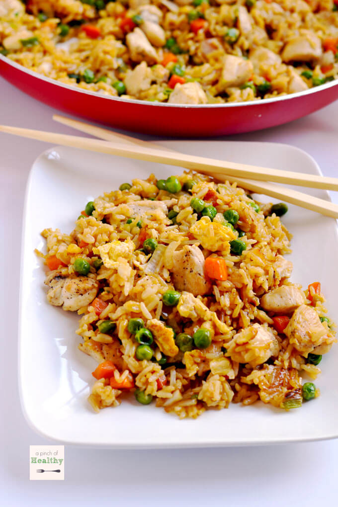 #3 Chicken Fried Rice