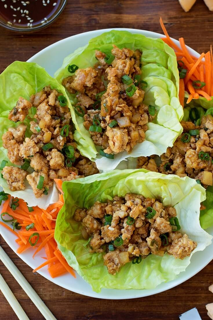 #3 PF Chang's Chicken Lettuce Wraps