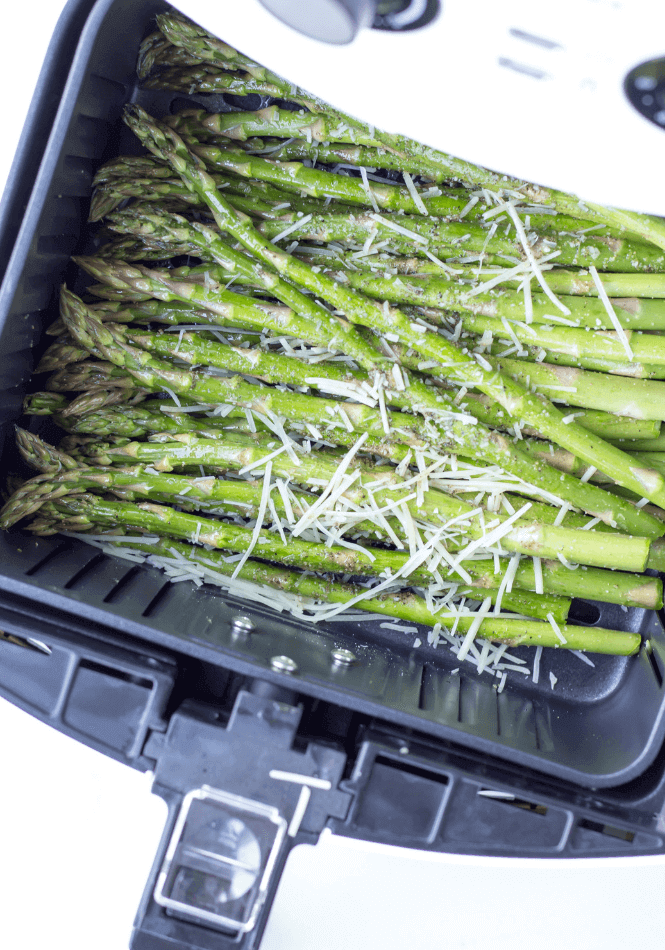 3. Air Fryer Garlic Parmesan Asparagus