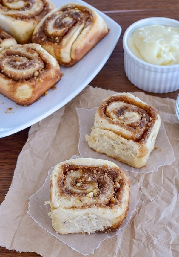 3. Banana Nut Cinnamon Rolls