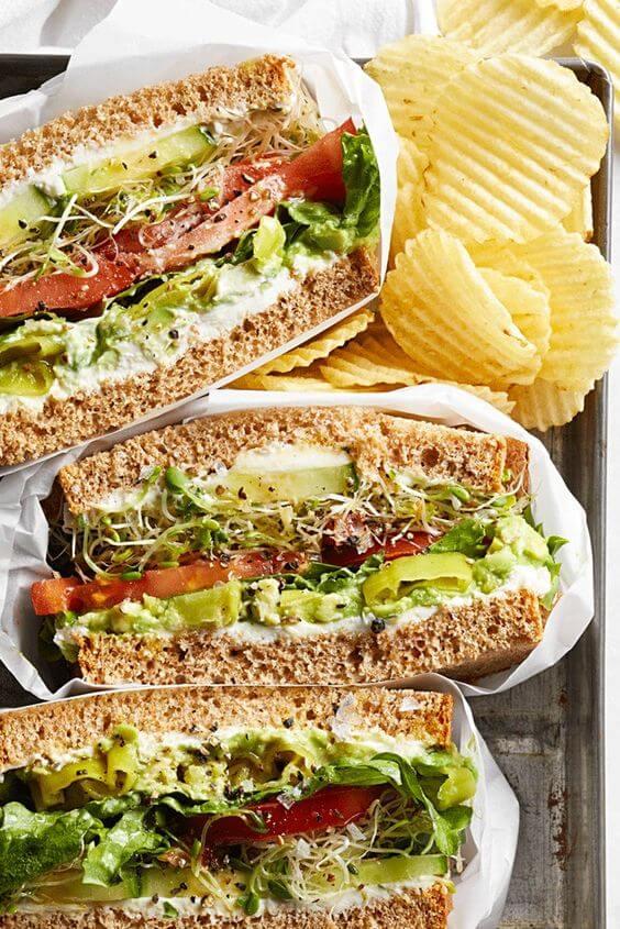 3. Cucumber Sandwich
