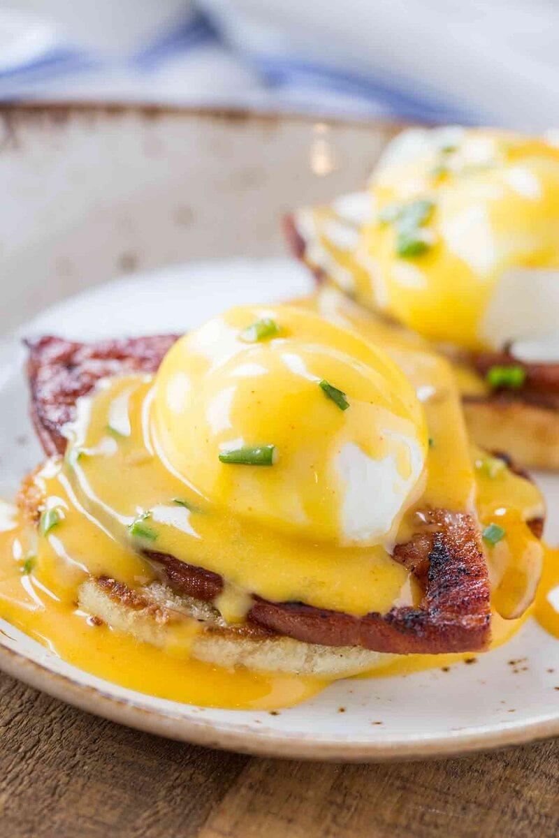 3. Easy Eggs Benedict