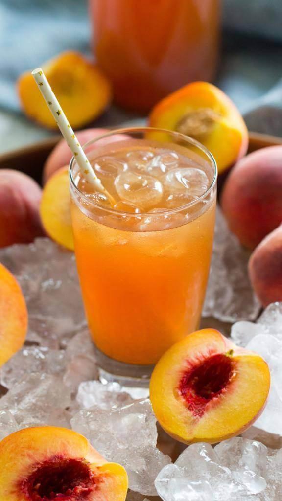 3. easy peach tea