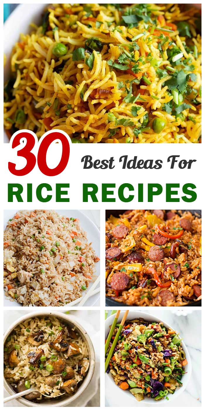 30 Best Ever Rice Recipes