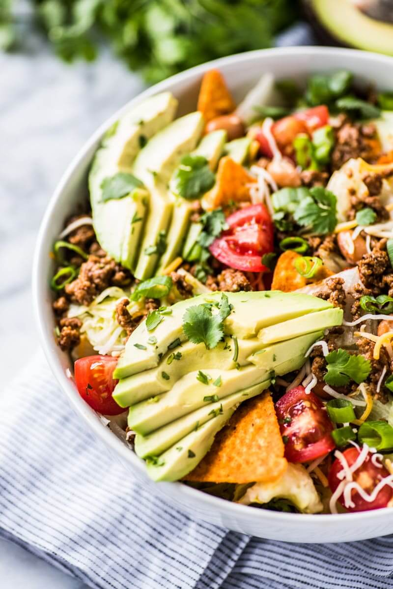 #30 Ground Beef Taco Salad