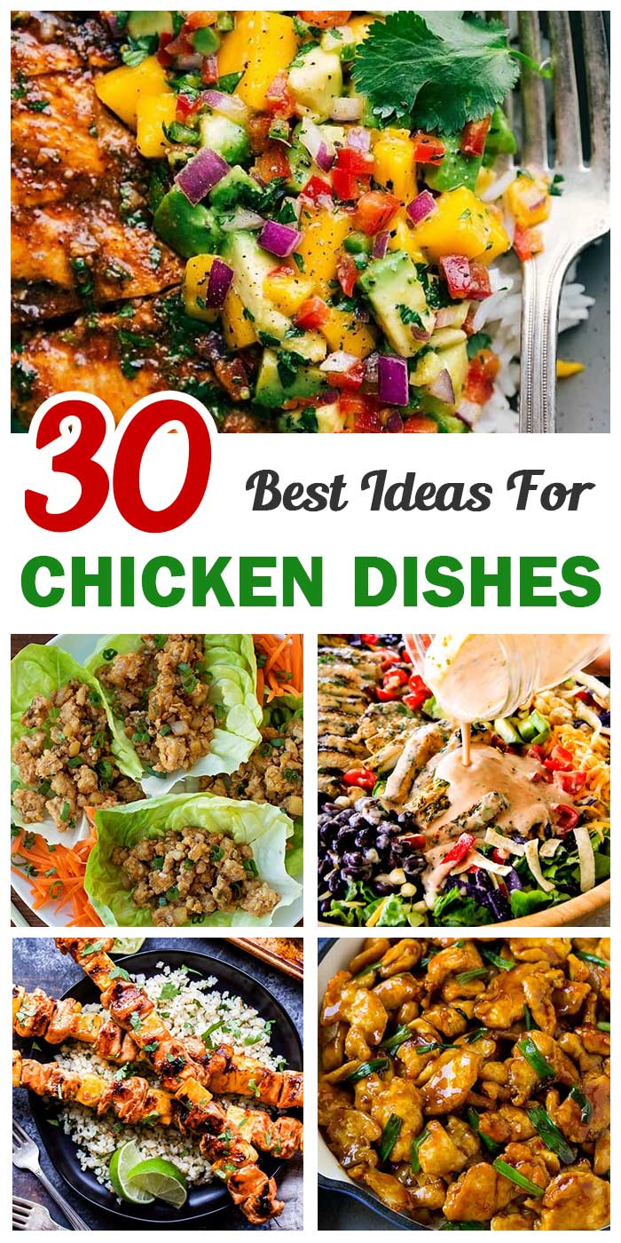 30 Of The Best Summer Chicken Dishes