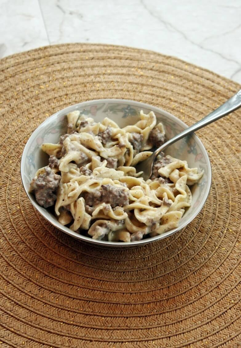 #4 5-Ingredient Beef Stroganoff