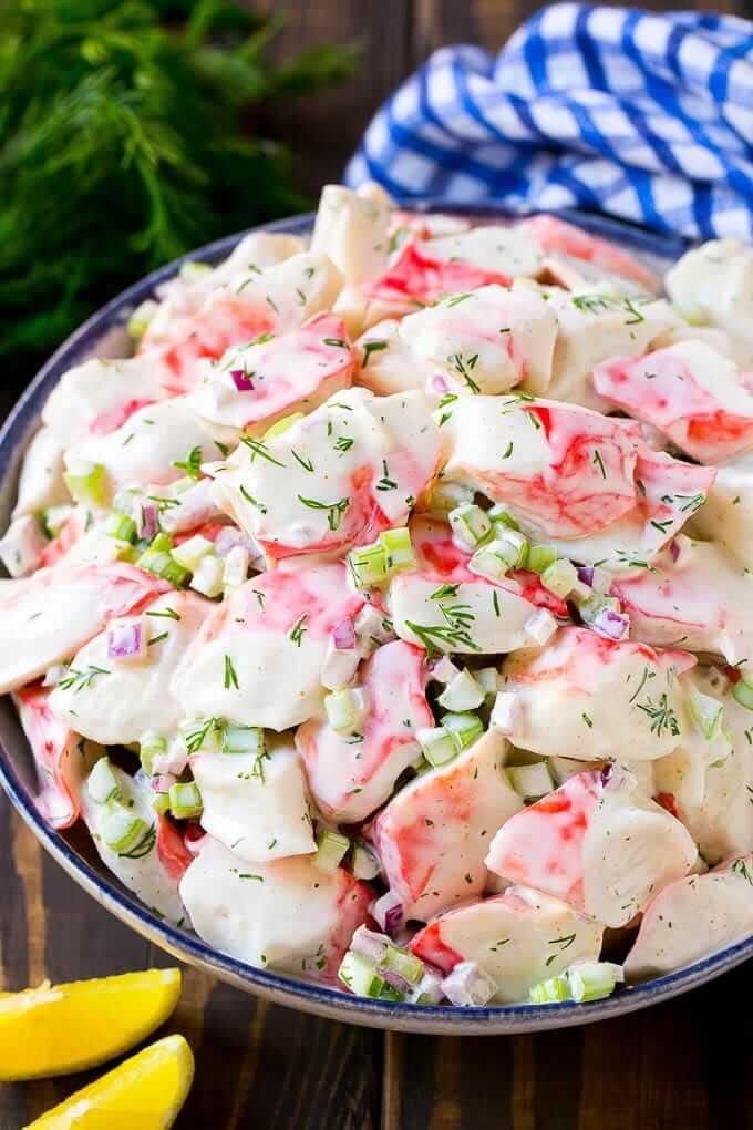 #4 Crab Salad