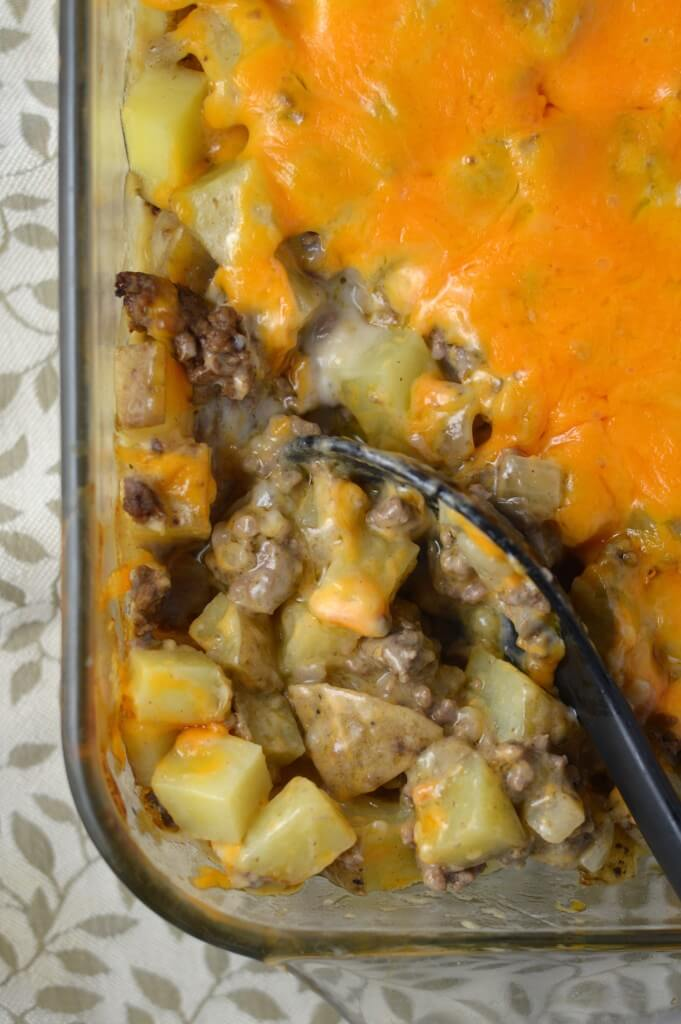#4 Ground Beef and Potato Casserole