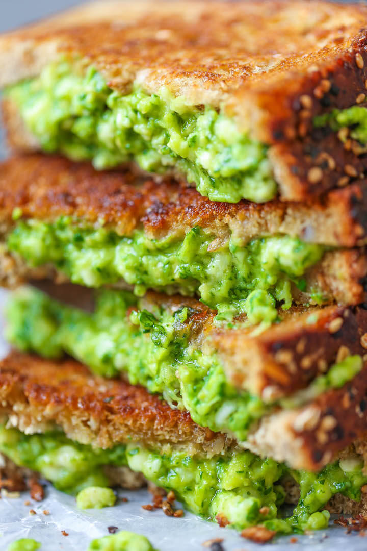#5 Avocado Grilled Cheese
