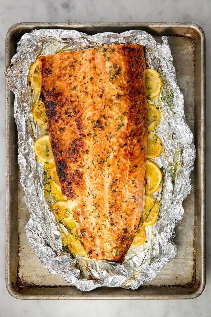 #5 Baked Garlic Butter Salmon