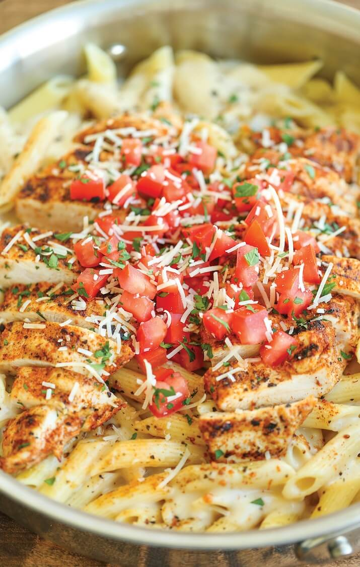 #5 Cajun Chicken Pasta