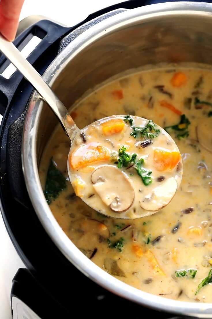 #5 Cozy Autumn Wild Rice Soup