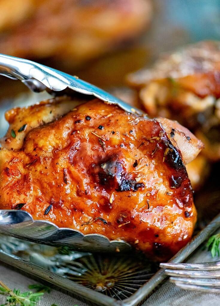 #5 Glazed Honey Balsamic Chicken