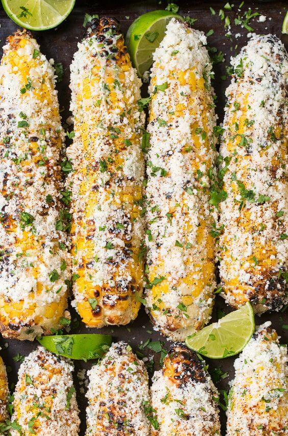 #5 Grilled Mexican Street Corn