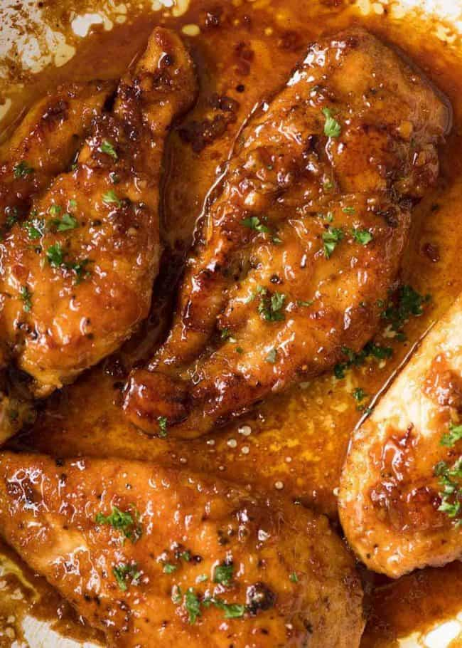 #5 Honey Garlic Chicken Breasts