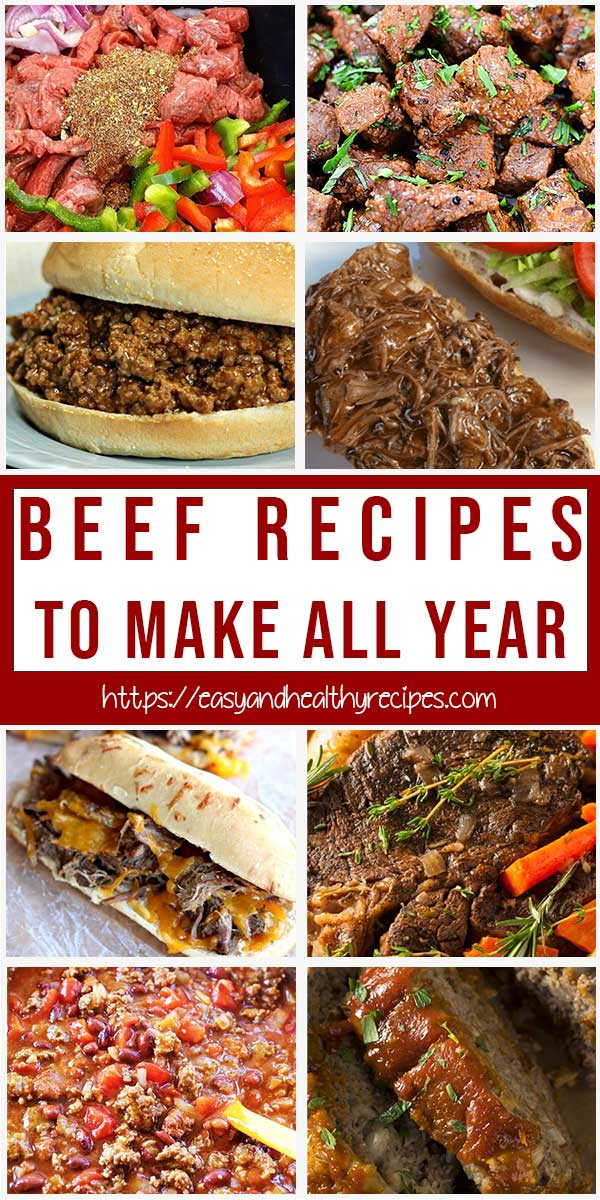 5 Ingredients Or Less Beef Recipes