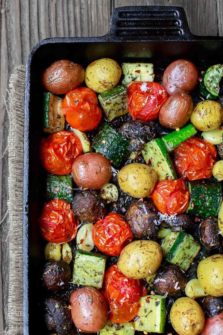 #5 Italian Oven Roasted Vegetables