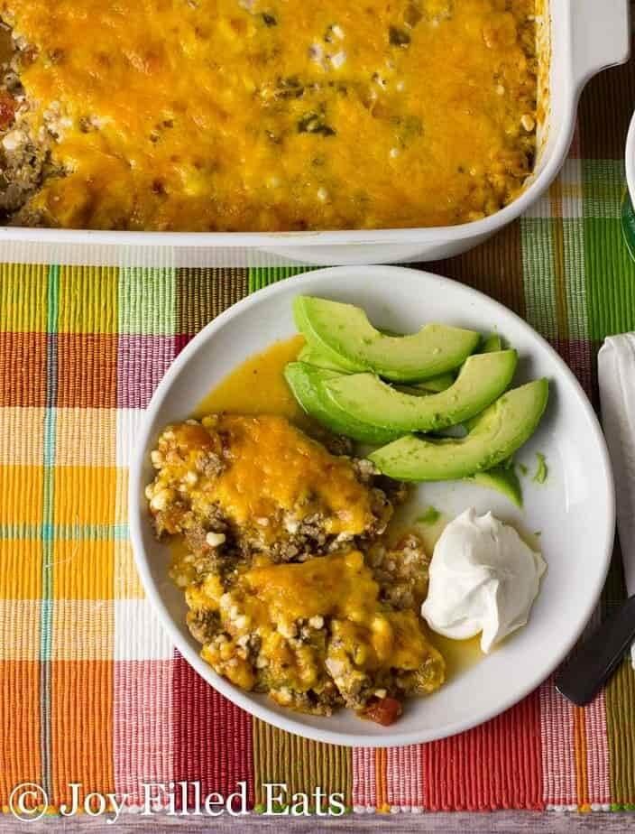 #5 Mexican Taco Casserole