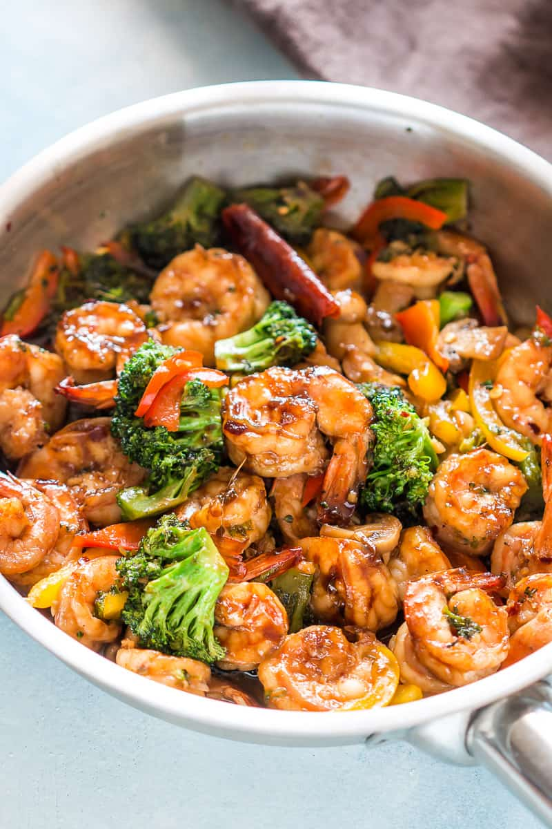 #5 Teriyaki Shrimp Broccoli Stir Fry