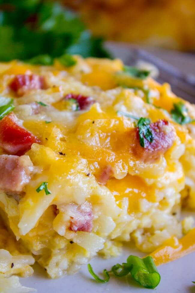 5. Cheesy Overnight Hashbrown Breakfast Casserole
