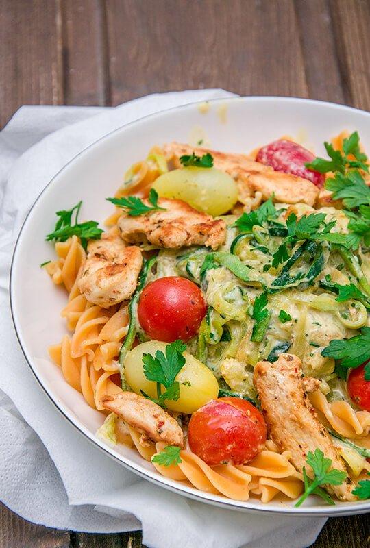 5. Gesunde Zucchini-Pasta