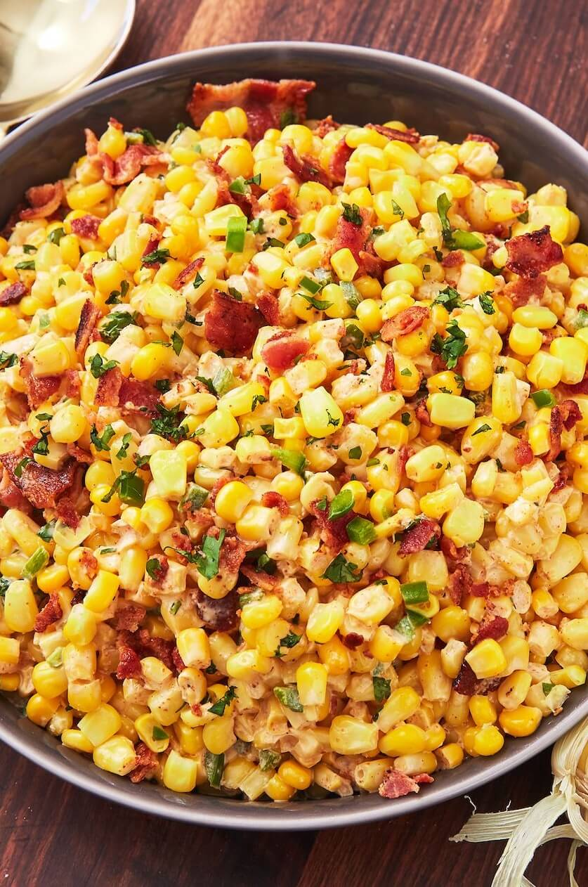#6 Bacon Jalapeño Corn Salad