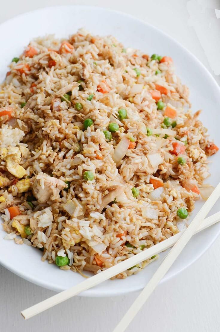 #6 Chicken Fried Rice