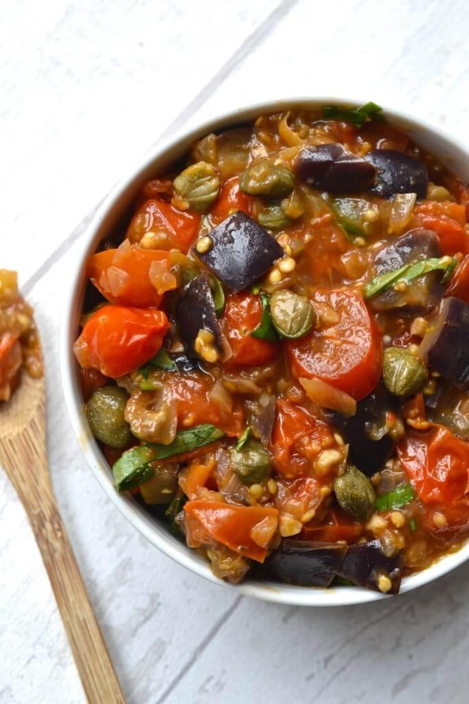 #6 Eggplant Caponata
