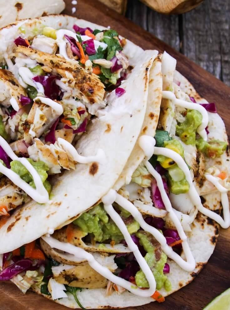 #6 Mojito Lime Mahi Mahi Tacos