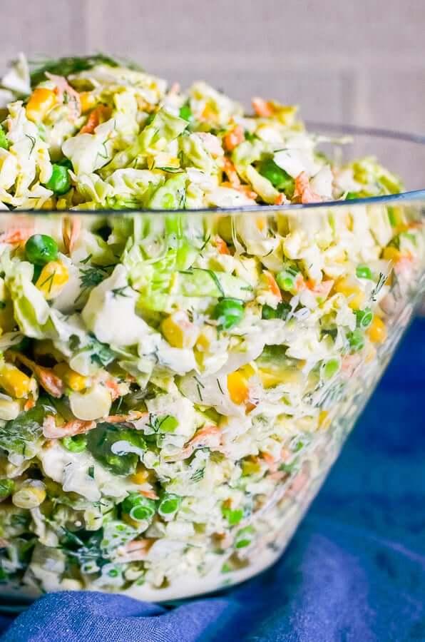 #6 Savoy Cabbage Salad