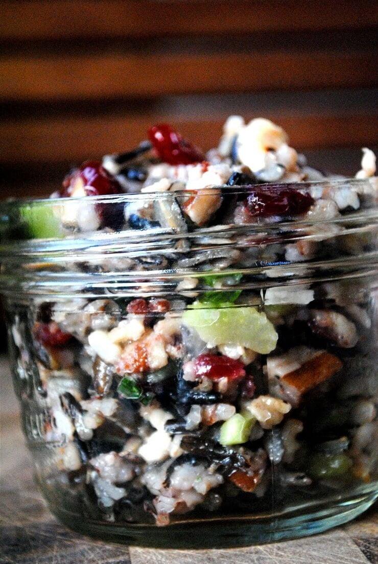 6. Wild Rice Salad