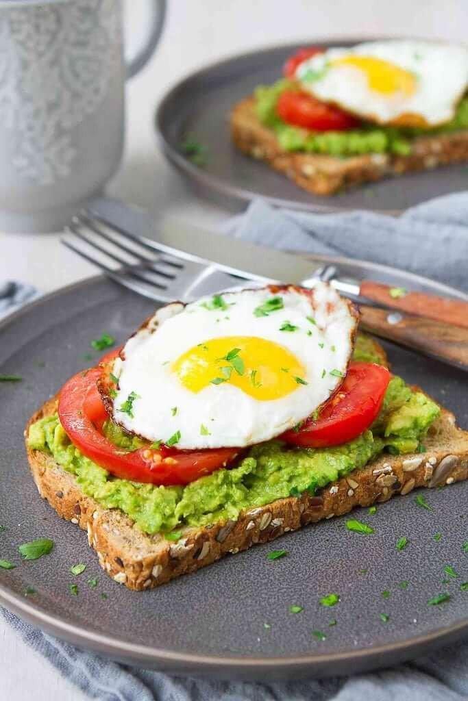 7 Avocado Egg Toasts