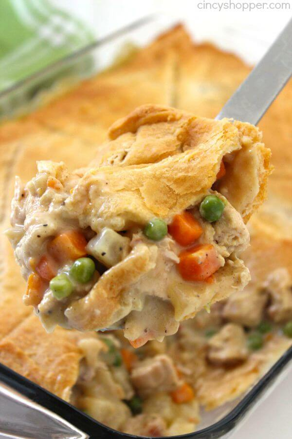 #7 Chicken Pot Pie Casserole