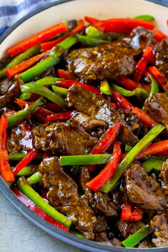#7 Pepper Steak Stir Fry