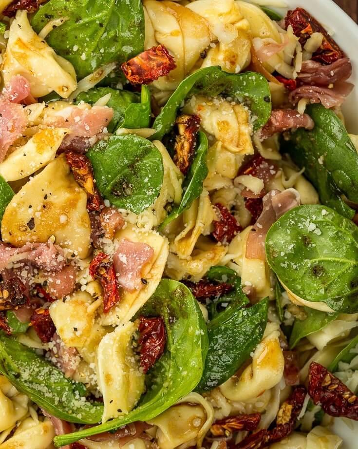 #7 Tuscan Tortellini Salad