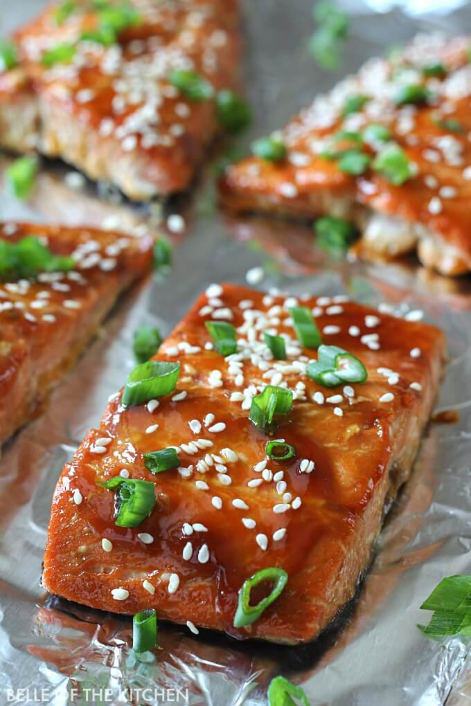 #8 Teriyaki Glazed Salmon
