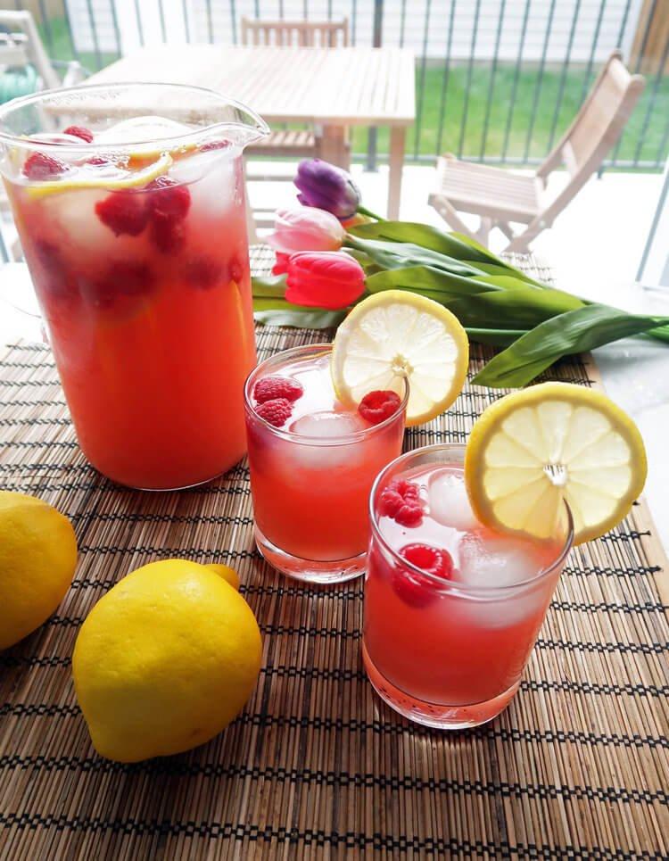8. Raspberry Lemonade Green Tea