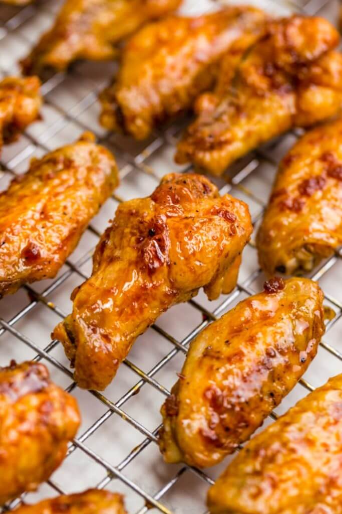 #9 Crispy Baked Hot Wings