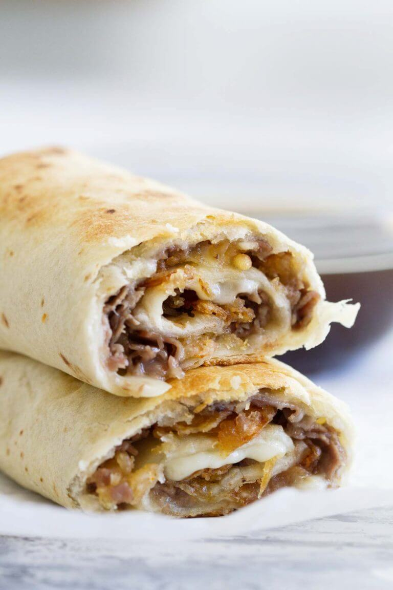 #9 French Dip Tortilla Roll Ups