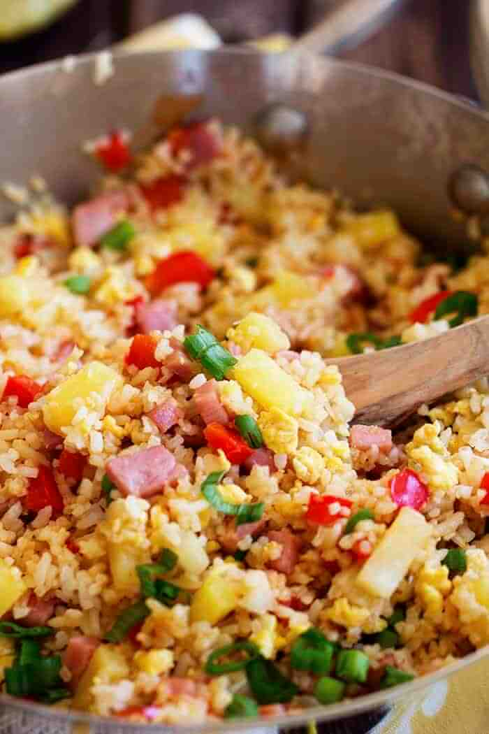 #9 Hawaiian Fried Rice