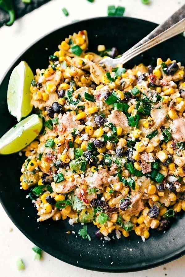 9 Mexican Street Corn Pasta Salad