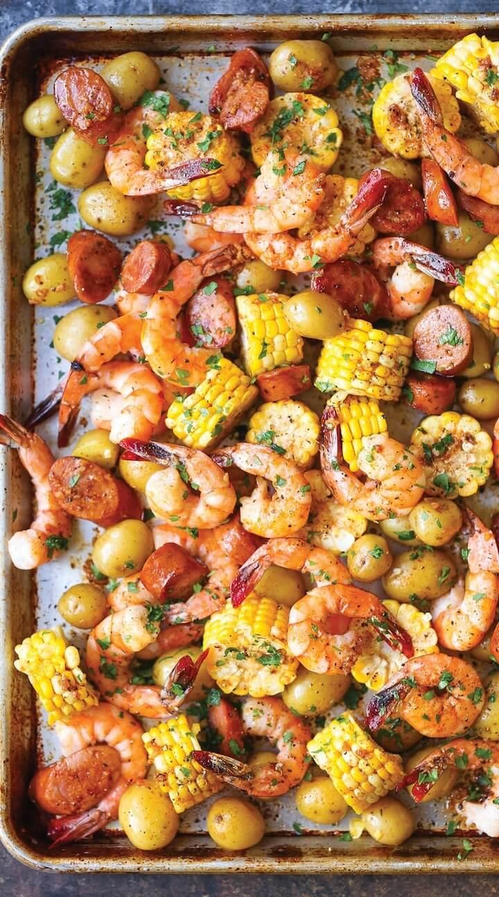 #9 Sheet Pan Shrimp Boil